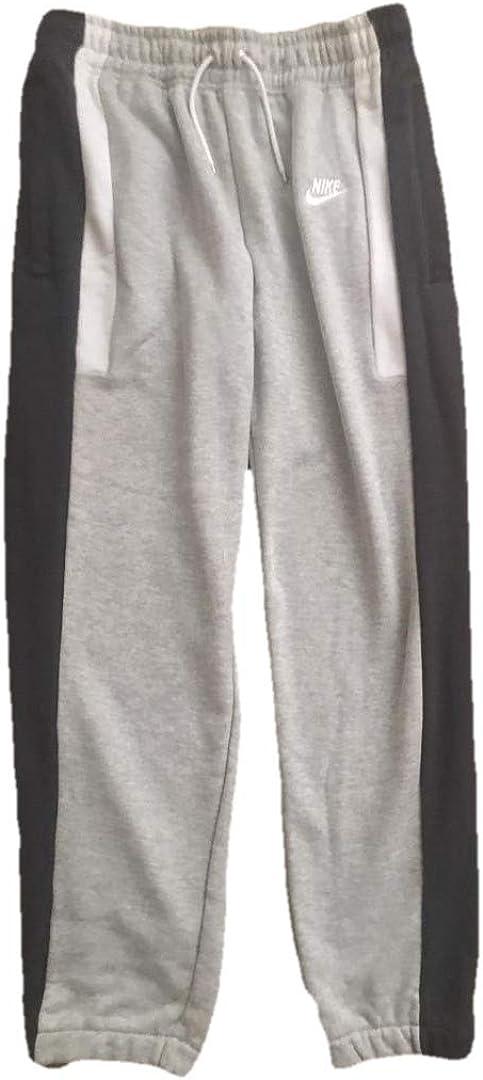 Nike AQ2100 - Pantalones deportivos para hombre (forro polar), color gris y negro - Gris - Small: Amazon.es: Ropa y accesorios