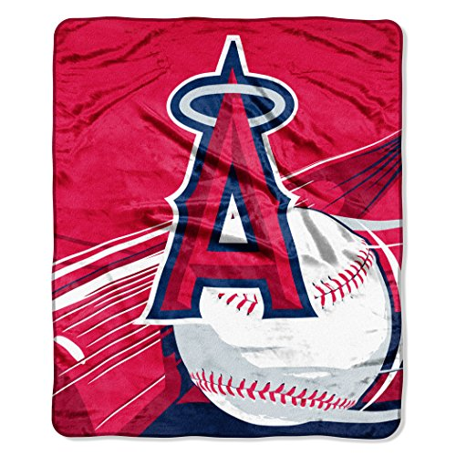 - Officially Licensed MLB Big Stick Raschel Throw Blanket, Bedding, Soft & Cozy, Washable, 50