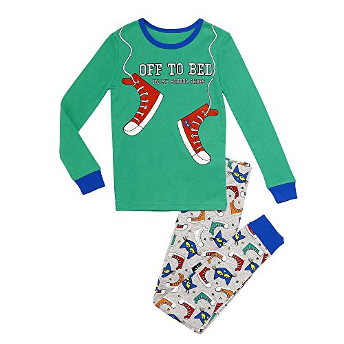 Price comparison product image Pete the Cat Baby Boys 2-Piece Snug Fit Pajama Set,  Off to Bed