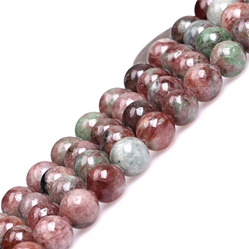 - Red Kasgar Garnet Beads for Jewelry Making Natural Gemstone Semi Precious 8mm Round 15