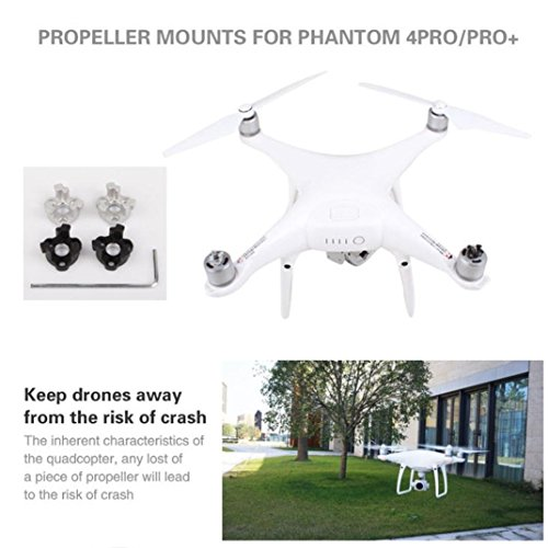 Creazy Upgrade Metal Propeller Bracket Motor Mount Holder Adapter for DJI Phantom 4 pro