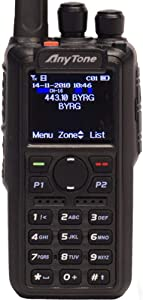 AnyTone AT-D868UV W/GPS + Free Course, Programming Cable, Support, 3100mAh Battery, Latest Firmware, Dual Band DMR/Analog.