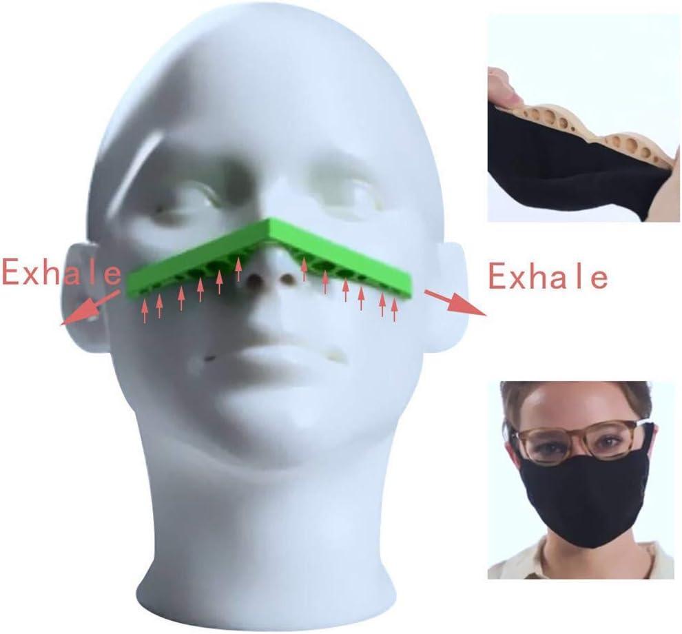 5-teilige Antibeschlag-Nasenbr/ückenpolster vergr/ö/ßert den Atemraum und hilft beim reibungslosen Atmen Silikon-Nasenhalterung f/ür Brillen und Gesichtsbedeckung