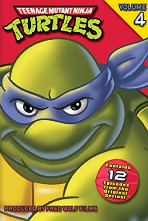 Amazon Com Teenage Mutant Ninja Turtles Original Series Volume 4 Cam Clarke Barry Gordon Rob Paulsen Townsend Coleman Renae Jacobs Peter Renaday Pat Fraley James Avery Jennifer Darling Jim Cummings Tony Jay