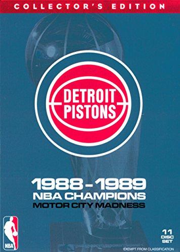 NBA: Detroit Pistons 1988-89 Champions (11 Disc Box Set) ()