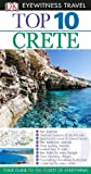Front cover for the book Top 10 Crete by Robin Gauldie