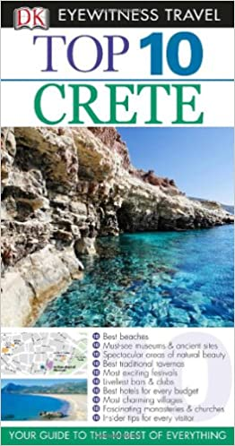 Crete Eyewitness Top 10 Travel Guides