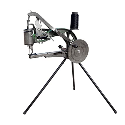 ECO-WORTHY Máquina de reparación manual de zapatos, Máquina de coser zapatos, Máquina