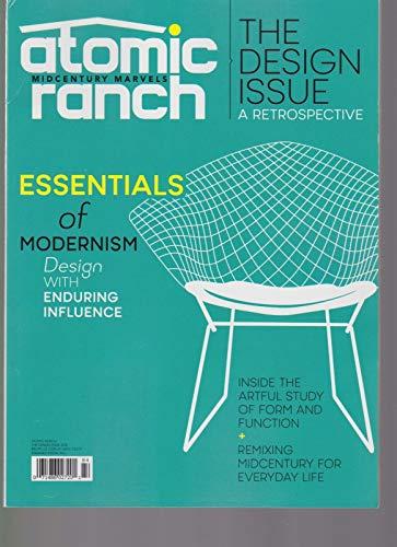 ATOMIC RANCH MAGAZINE MIDCENTURY MARVELS THE DESIGN ISSUE 2018.