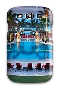 High Grade Flexible Tpu Case For Galaxy S3 - Luxury Swimming Pool