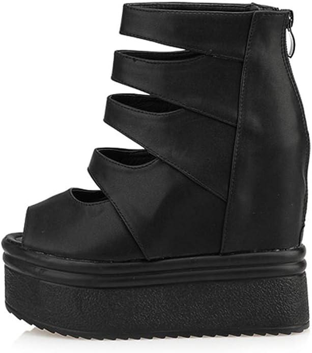 Details about  /Womens Ladies Platform Stiletto Heels Gladiator Peep toe Summer Sandals Shoes SZ
