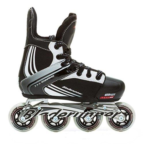 Bladerunner by Rollerblade Dynamo Jr Size Adjustable Hockey Inline Skate, Black and Red, Inline Skates by Bladerunner (Image #2)