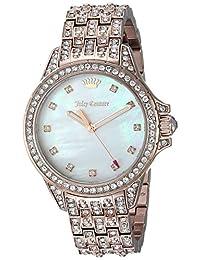 Juicy Couture Women's 'MALIBU BLING' Quartz Gold Casual Watch(Model: 1901560)