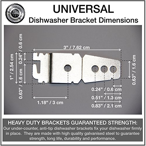 Review 2-Pack UNIVERSAL Undercounter Dishwasher