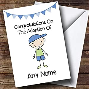 Amazon adoption congratulations adopting an older boy son greeting cards m4hsunfo