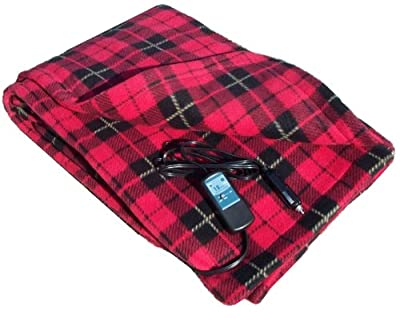 Trillium Worldwide Car Cozy 2 12-Volt Heated Travel Blanket