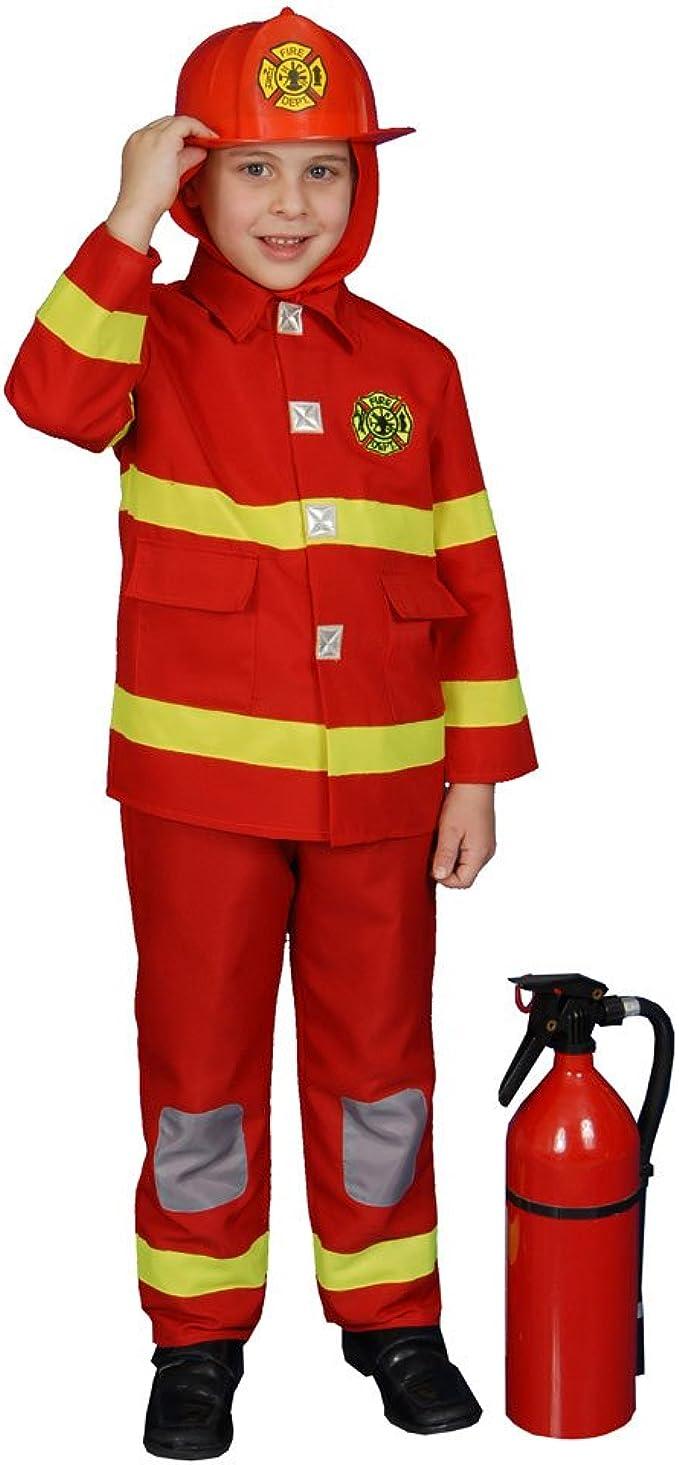 Firefighter Costume Teen Girls Halloween Fancy Dress