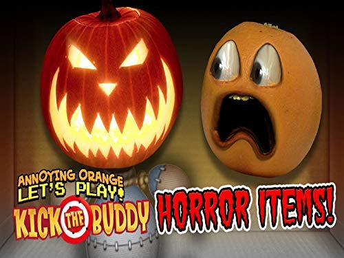 Clip: Kick the Buddy - Horror Items