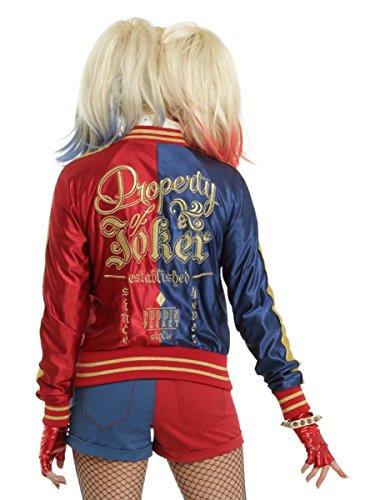 DC Comics Suicide Squad Harley Quinn Girls Satin Souvenir Jacket -