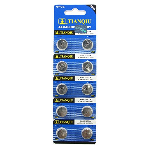 AG13/LR44 Alkaline Button Cell Battery - 10 pack