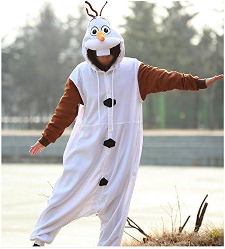 Everglamour - Disfraz del muñeco de nieve Olaf de Frozen para ...
