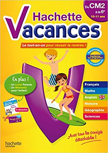 Amazon Fr Hachette Vacances Cm2 6eme Daniel Berlion Ann