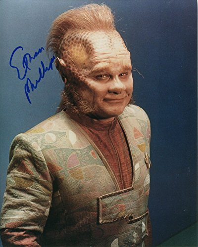 Ethan Phillips Signed / Autographed Star Trek Voyager 8x10 glossy photo as Neelix. Includes FANEXPO Certificate of Authenticity and Proof. Entertainment Autograph Original.