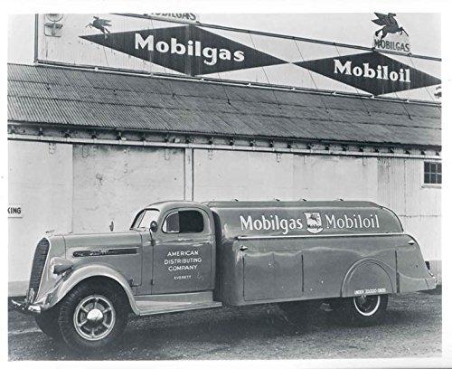 1938 Studebaker K30 Mobil Oil Gas Tank Truck Photo from AutoLit