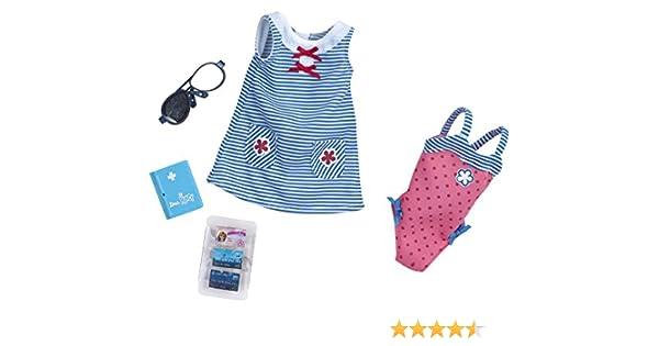 Amazon.es: Nancy Set de ropita para viajar con vestido azul y ...
