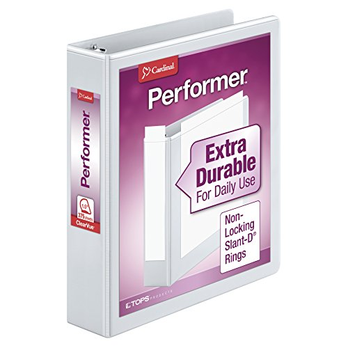 Cardinal Performer 3-Ring Binder, 1.5
