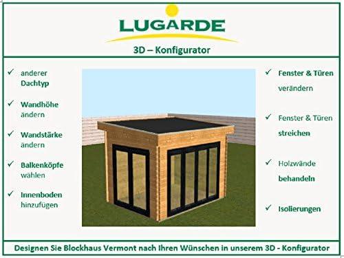 lugarde bloque casa Vermont madera de abeto nuevo Bloque Diseño ...