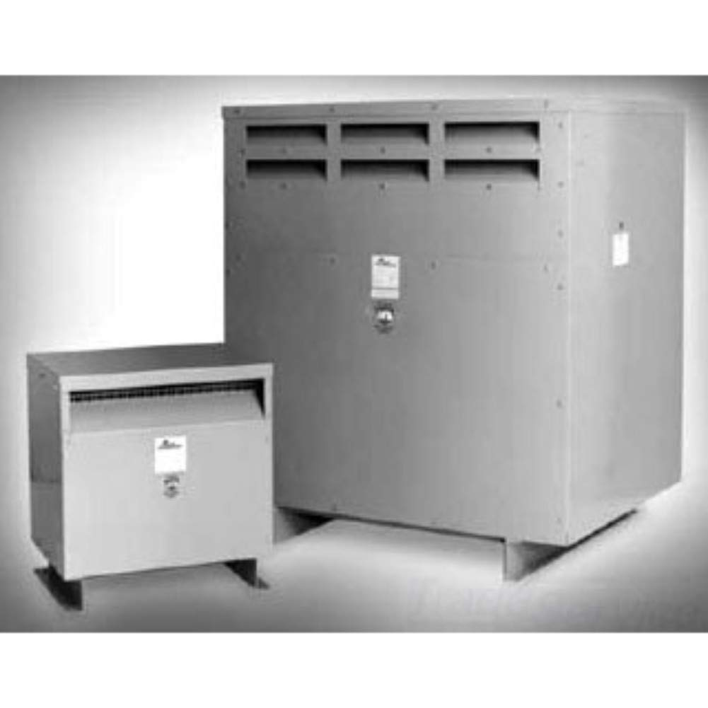 Image of Acme Electric T2A533281S Dry Type Distribution Transformer, 3 Phase, 480V Delta Primary Volts, 240V Delta/120V Tap Secondary Volts, 60 Hz, 3 kVA