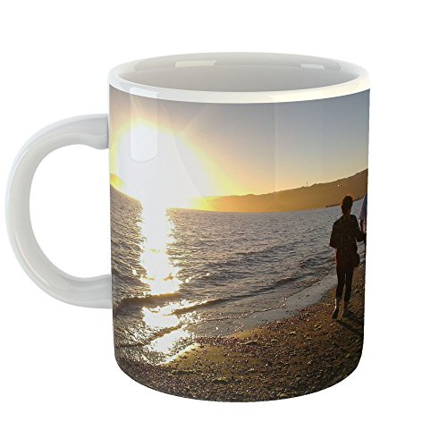 Westlake Art - Sky Sun - 11oz Coffee Cup Mug - Modern Pictur