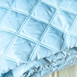 Sposh Quilted Blankets (Spa Blue, Queen)