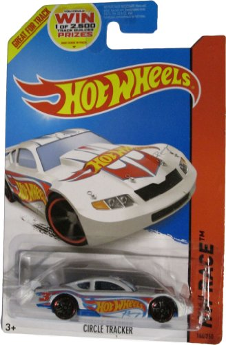 Hot Wheels 2014 Hw Race Team White Circle Tracker 144/250 (Hotwheels Circle Tracker)