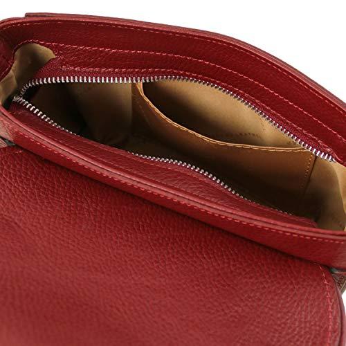 Leather Scuro Pochette Primula Tl141725 Tuscany blu Pelle In Rosso zxCqnd