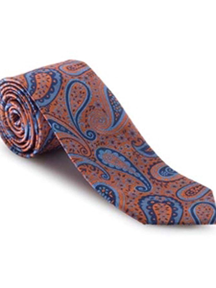 Robert Talbott Paisley Best of Class Extra Long Tie