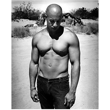 Vin Diesel 8 Inch x 10 Inch Photo Fast   Furious Riddick xXx shirtless at  Amazon s Entertainment Collectibles Store c0d165baa1