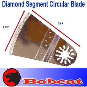Diamond Segment Circular Grout Tile Cut Oscillating Multi