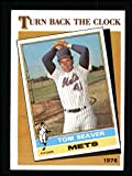 1986 Topps # 402 Turn Back The Clock Tom Seaver New York Mets (Baseball Card) Dean's Cards 8 - NM/MT