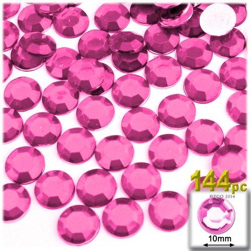 Pink Acrylic Rhinestone - 6
