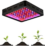 GOWE 1200W Double Chips LED Grow Light Full Spectrum 410-730nm For Indoor Plants and Flower Phrase led Lights For Growing