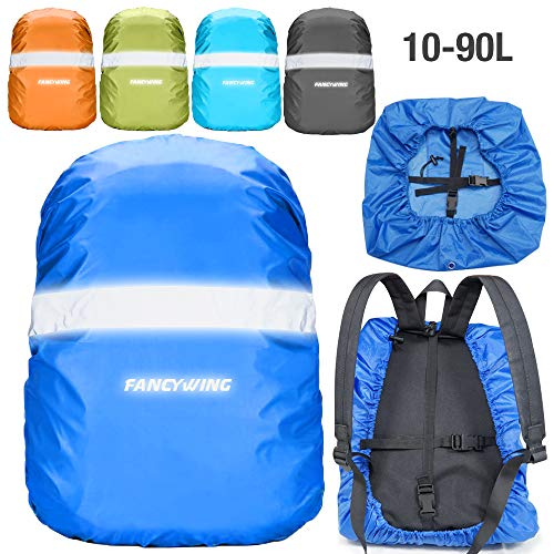 ece36168ef FANCYWING Waterproof Backpack Rain Cover with Reflective Strap
