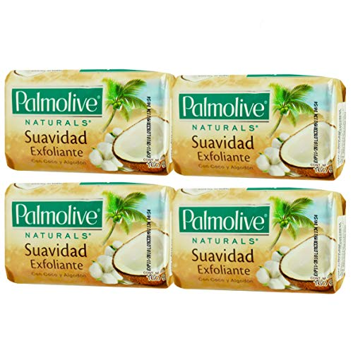- Palmolive Naturals Coco y Algodon Soap Coconut and Cotton 160g Pack 4