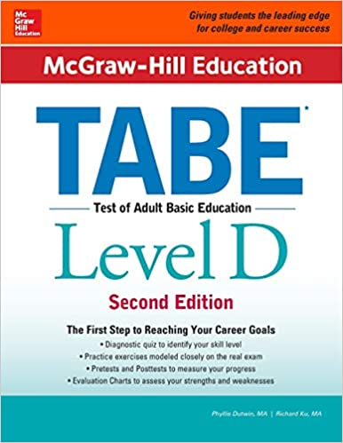 McGraw Hill Education TABE Level D Second