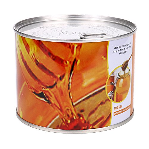 Removal Wax, Hometom Beeswax Body Hair Removal Wax Tearing Arm Armpit Leg Body Hair Removal Cream (Honey)