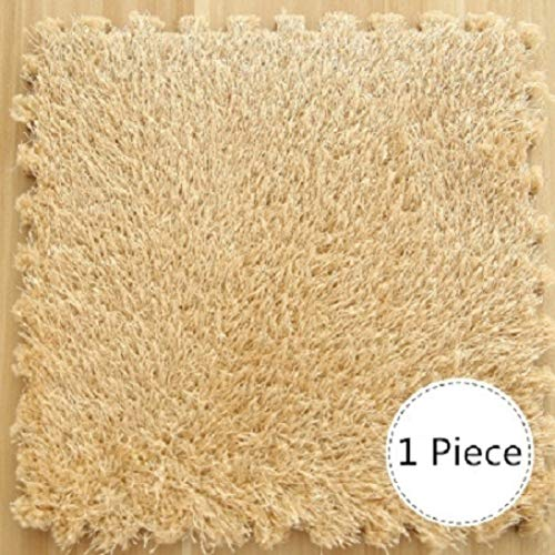 30x30CM Puzzle Mat EVA Foam Long Villi Shaggy Carpet for sale  Delivered anywhere in USA