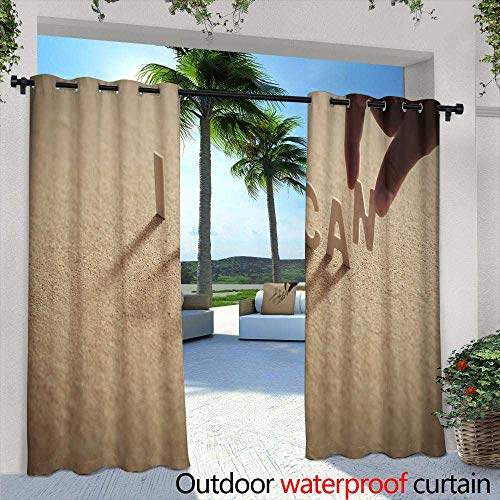 Lightly Balcony Curtains,Houston Texans Football Fan Source [转换],W84 x L96 Outdoor Privacy Porch Curtains - Houston Texans Valance