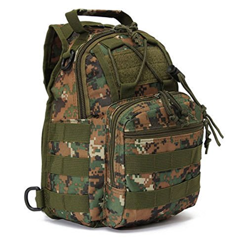 JD Million shop Trekking Bag Jungle Travel Camouflage Military Nylon One Shoulder Backpack Hot Sale