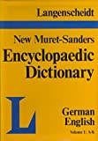img - for Langenscheidt's Encyclopaedic Dictionary of the English and German Languages, Part 2: German-English, Vol. 1: A-K book / textbook / text book